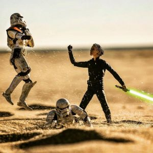 I'm Luke Skywalkin' on these haters - Covax Toy Photography
