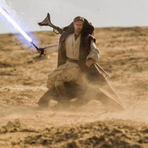 Obi Wan Kenobi on Tatooine- Lightsaber Ignition, hot and fresh out the kitchen - Covax Toy Photography