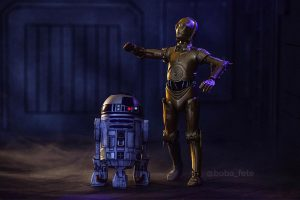 R2D2 and C3PO might be lost - Covax Toy Photography